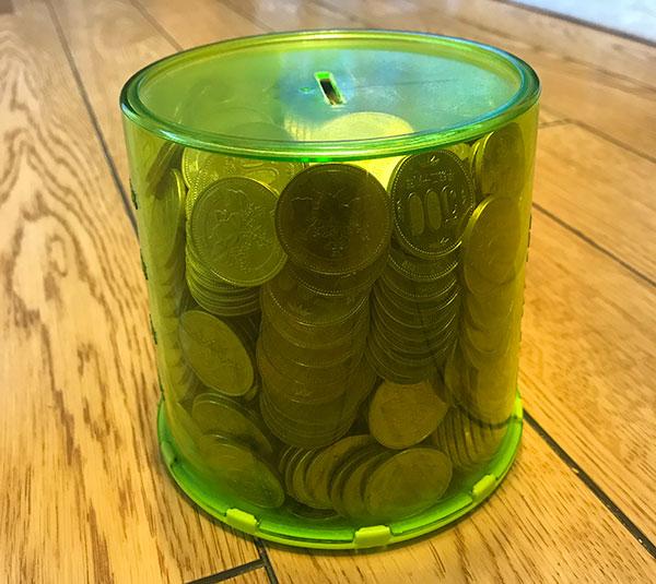 500円玉貯金箱